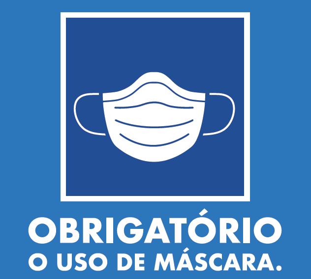 Governo do Estado determina uso obrigatório de máscaras.