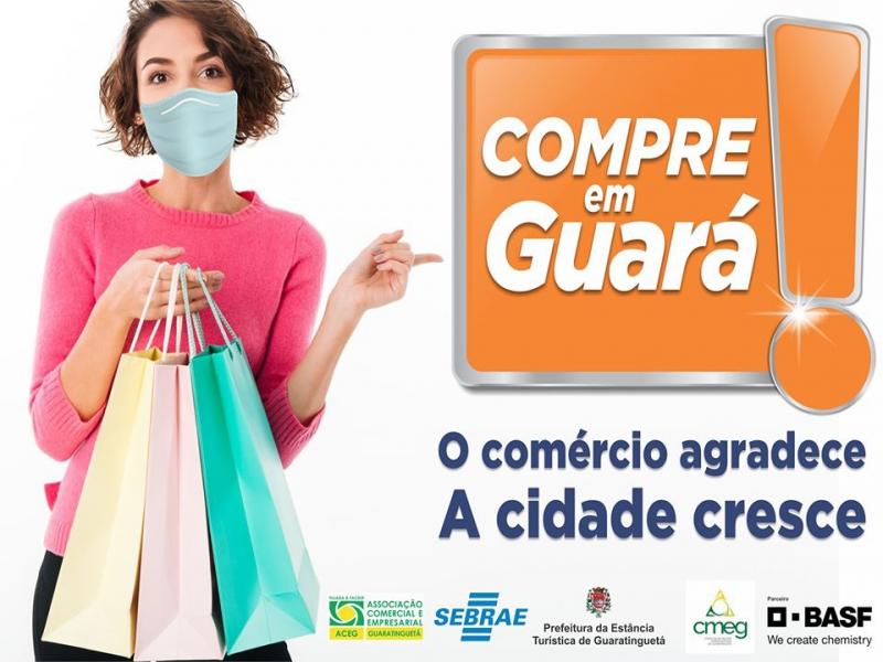 Notícia: Campanha Compre em Guará - O Comércio agradece a Cidade cresce.