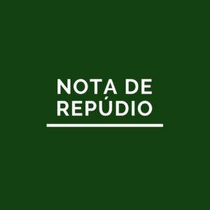 Notícia: Nota Oficial – 23/12/2020