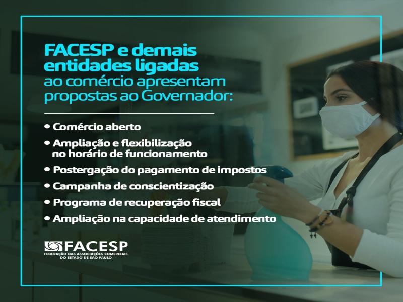 Notícia: Entidades pedem que governador mantenha o comércio aberto e que haja flexibilização no horário de funcionamento