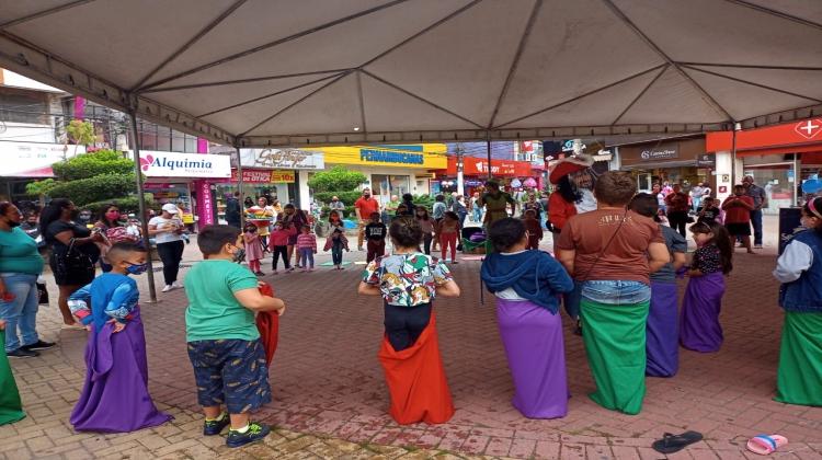 Notícia: A ACEG realizou uma linda festa em comemoração ao Dia das Crianças