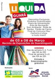 Notícia: Liquida Guará: ACEG aposta em liquidação para fortalecer o comércio local